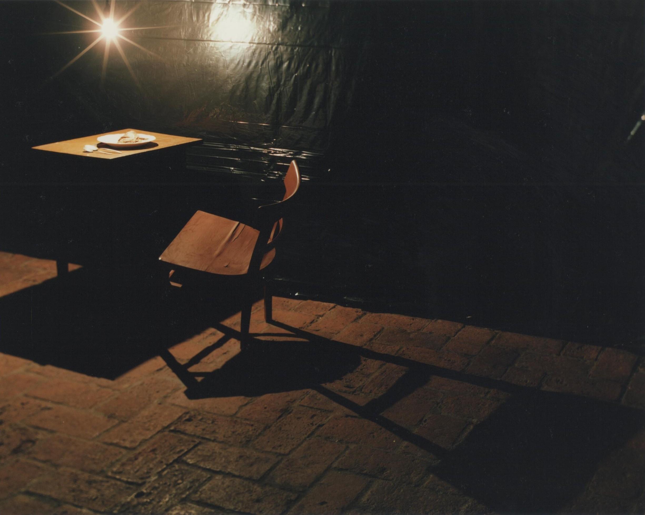 Verletzte Zeit - Kammer 5 - 1995 Foto: Rose Heuberger.