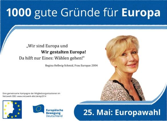 Wahlaufruf zur Europawahl