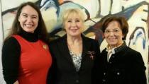 00b Fest zur Verleihung des Bundeverdienstkreuz am Bande. Inge Bell, Regina Hellwig-Schmid, Emilia Müller Foto I Bell